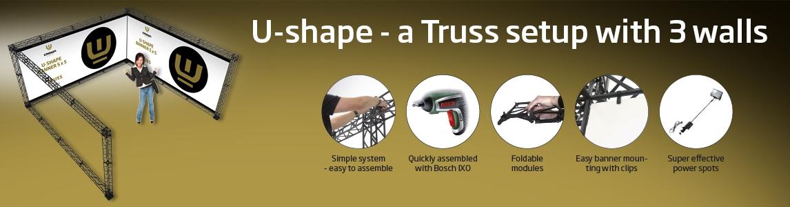 Truss U-shape