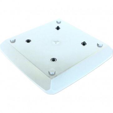 CROWN TRUSS, Regular base 19,5x19,5cm - White