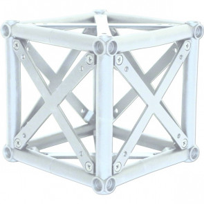 CROWN TRUSS, Corner Block - White