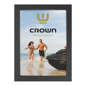 Crown Snap Frame 33 mm (G), A5, sort