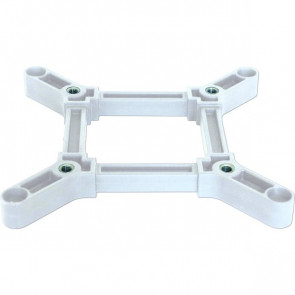 CROWN TRUSS, Connector Cross - White